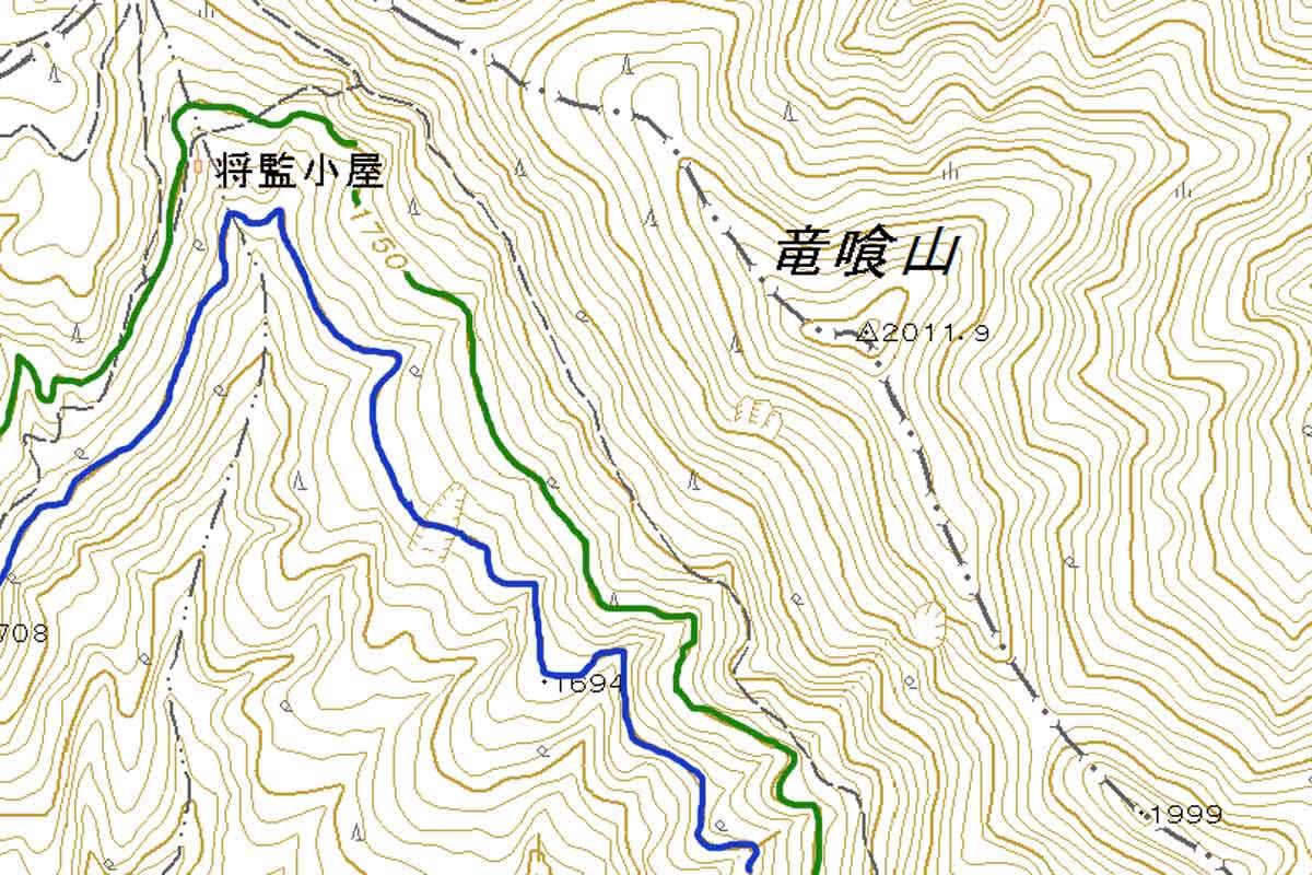 登山で国土地理院2万5千分の1地図を持参する理由とメリット