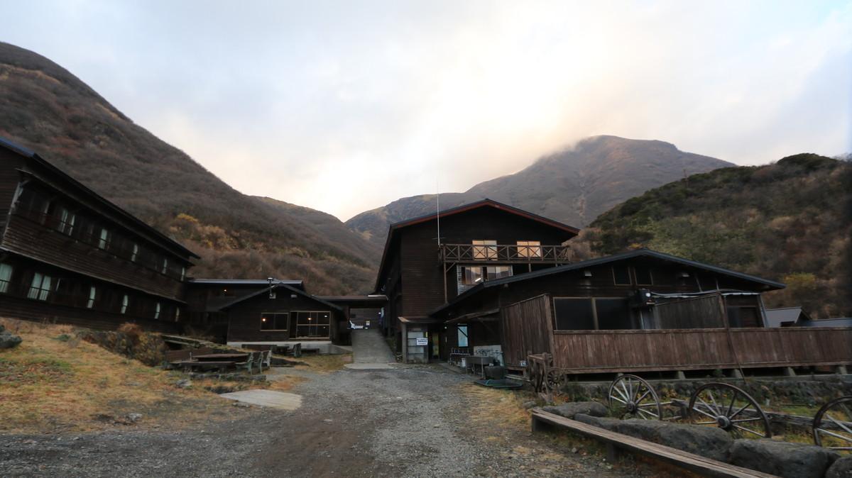 法華院温泉山荘の外観